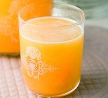 Persikų ir apelsinų limonadas