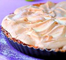 Biskvitinis pyragas su citrinomis ir grietinėle