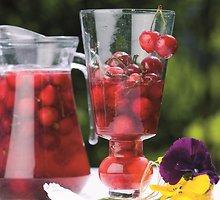 Vyšnių ir trešnių kompotas