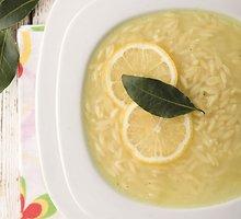 Graikiška citrinų sriuba