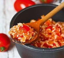 Pomidorų mišrainė su ryžiais