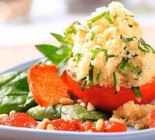 Pomidorai su kuskusu