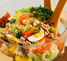 Itališkos salotos su tunu
