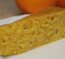 Apelsininis pyragas su migdolų riešutais