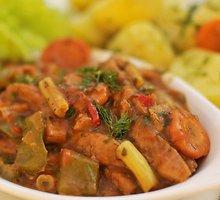 Vegetariškas vengriškas guliašas