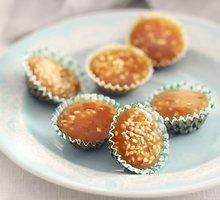 Sezamų sėklų irisai