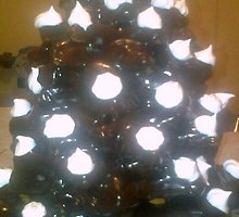 Šokoladinė Kalėdų eglutė