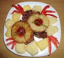 Kepsniai su ananasais