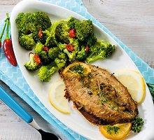 Žuvis su brokoliais