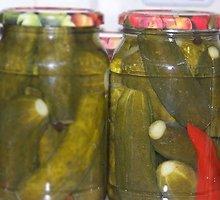 Konservuoti čili agurkai