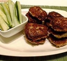 Mėsos ir bulvių kotletai