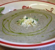 Kreminė pievagrybių sriuba
