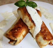 Lietiniai su vištiena ir sūriu