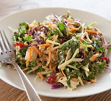 Lapinių kopūstų ir morkų salotos