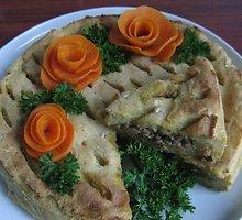 Sotusis bulvių pyragas