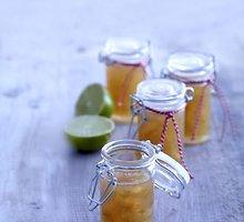 Žaliųjų citrinų ir imbierų uogienė