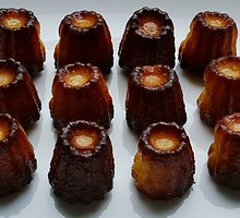 Prancūziški pyragėliai kanelės