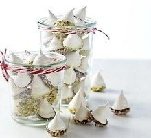 Šokolade mirkyti morengai