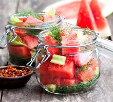 Marinuoti arbūzai