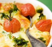 Brokolių ir žiedinių kopūstų apkepas