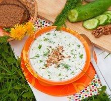"""Žemaitiška rūgpienio sriuba su silke """"šmakalas"""""""