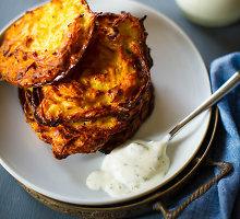 Bulvių ir cukinijų blynai
