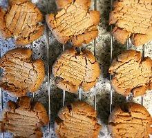 Trapūs žemės riešutų sviesto sausainiai su rūkyta paprika
