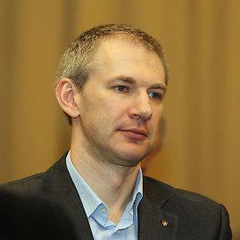 """E.Ovčarenkos nuotr./""""Lietuvos ryto"""" komandos direktorius Martynas Purlys"""