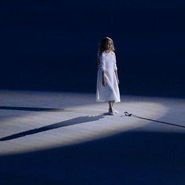 """""""Scanpix"""" nuotr./Sočio olimpinių žaidynių atidarymo simbolis – mergaitė Meilė"""