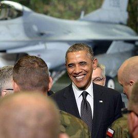 "AFP/""Scanpix"" nuotr./JAV prezidentas Barackas Obama Lenkijoje"