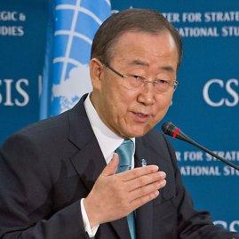 "AFP/""Scanpix"" nuotr./Jungtinių Tautų (JT) generalinis sekretorius Ban Ki-moonas"