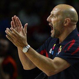 """""""Reuters""""/""""Scanpix"""" nuotr./Serbijos rinktinės treneris Saša Djordjevičius"""