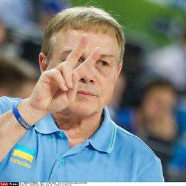"""""""Scanpix""""/""""SIPA"""" nuotr./Ukrainos rinktinės treneris Mike'as Fratello"""