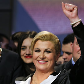 """Reuters""/""Scanpix"" nuotr./Kolinda Grabar-Kitarovič"