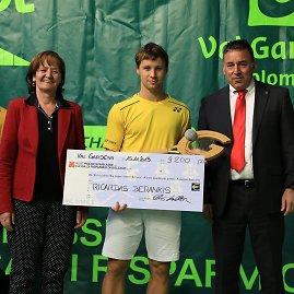 ATP Val Gardena nuotr./Ričardas Berankis tapo Ortizėjaus turnyro čempionu