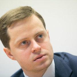 "Juliaus Kalinsko / 15min nuotr./""Litgas"" vadovas Dominykas Tučkus"