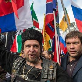 """AFP/""""Scanpix"""" nuotr./Eitynės Maskvoje"""