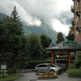 Lietus dažnai merkia Monblano papėdėje įsikūrusį Chamonix