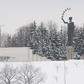 Andriaus Vaitkevičiaus/15min.lt nuotr./Žiema Vilniuje