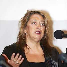 Redo Vilimo/BFL nuotr. /Zaha Hadid