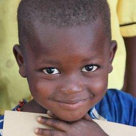 Runningforchange.lt nuotr. /Jis galės mokytis Kortor kaime pastatytoje mokykloje