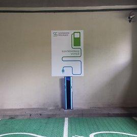 Nauja elektromobilių įkrovimo stotelė Vilniuje, Tilto g.