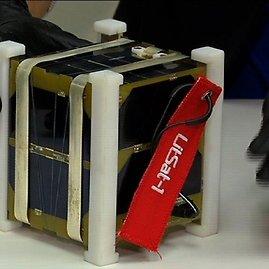 "NASA nuotr./Palydovas ""LitSat 1"" tikrinamas Hjustone"