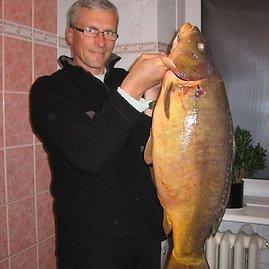 Ramūno J. nuotr./Ramūno J. karpis svėrė 11,54 kg.