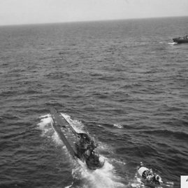 uboatarchive.net nuotr./U-505 iš viršaus