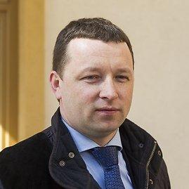 """Irmanto Gelūno/15min.lt nuotr./""""Mano aplinka"""" direktorius Mindaugas Strigockis"""