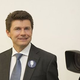 Irmanto Gelūno/15min.lt nuotr./Rinkimų naktis D.Grybauskaitės rinkimų štabe.