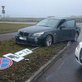 LKPT nuotr./Sulaikytas BMW
