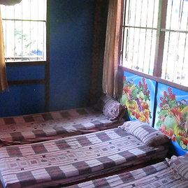 Godos Juocevičiūtės nuotr./Masažo kambarys Laose, Luang Prabange.