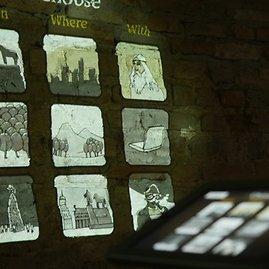 Muziejaus nuotr./Katedros požemių ekspozicija